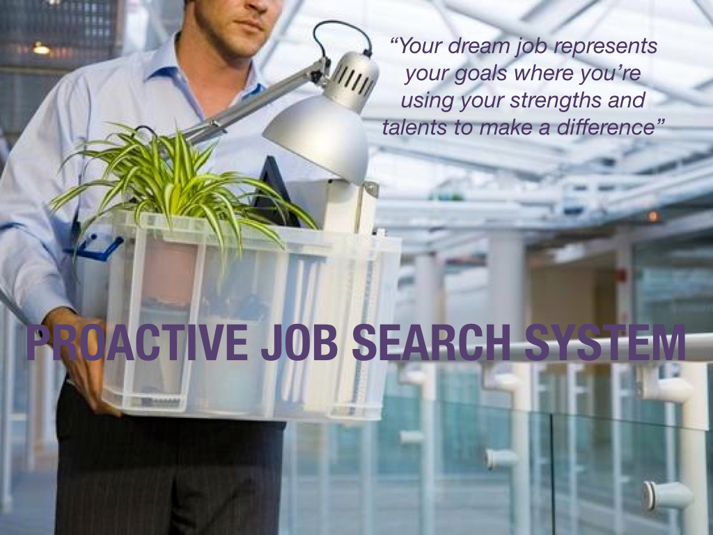 Program: Proactive Job Search System
